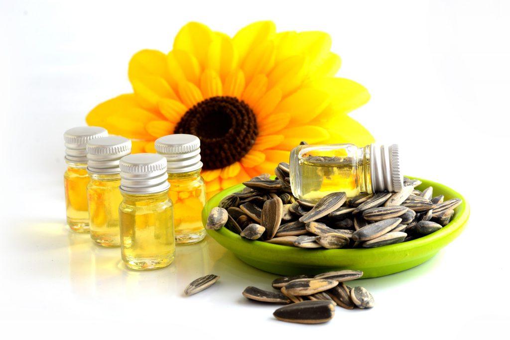 image d'huile végétale de Tournesol